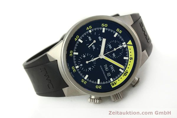 Used luxury watch IWC Aquatimer chronograph titanium automatic Kal. 79320 Ref. 3719  | 151394 03