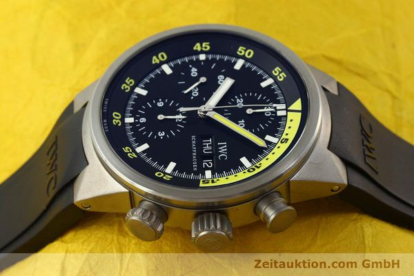 Used luxury watch IWC Aquatimer chronograph titanium automatic Kal. 79320 Ref. 3719  | 151394 05