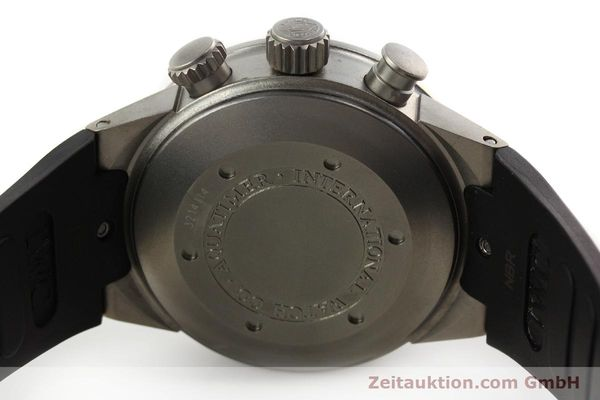 Used luxury watch IWC Aquatimer chronograph titanium automatic Kal. 79320 Ref. 3719  | 151394 08