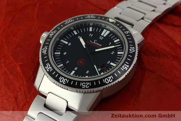 Used luxury watch Sinn EZM3 steel automatic Ref. 603.0304  | 151405 01