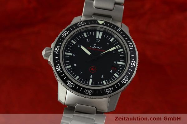 Used luxury watch Sinn EZM3 steel automatic Ref. 603.0304  | 151405 04