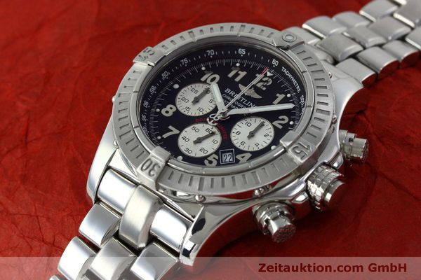 Used luxury watch Breitling Avenger chronograph steel quartz Kal. B69 Ref. A69360 LIMITED EDITION | 151407 01