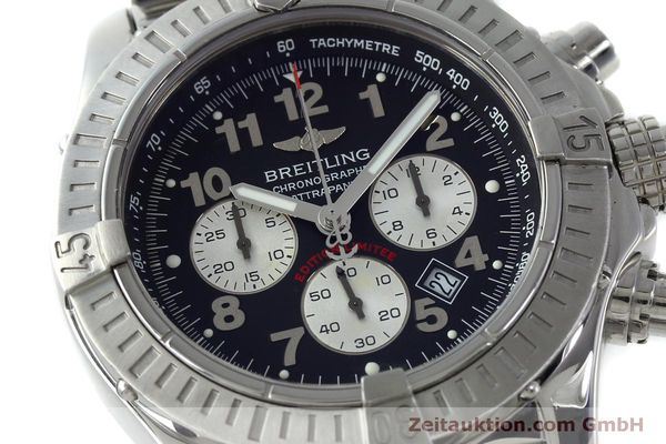 Used luxury watch Breitling Avenger chronograph steel quartz Kal. B69 Ref. A69360 LIMITED EDITION | 151407 02