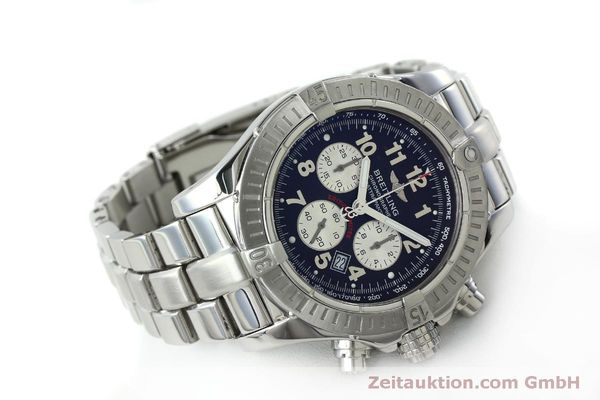 Used luxury watch Breitling Avenger chronograph steel quartz Kal. B69 Ref. A69360 LIMITED EDITION | 151407 03