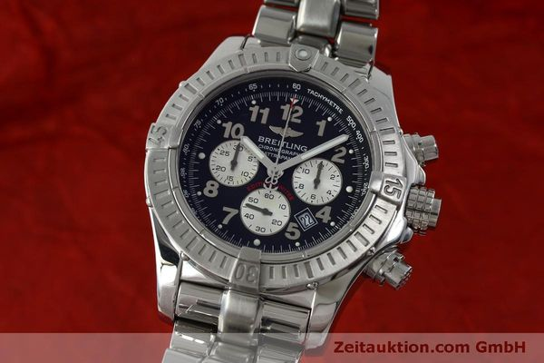 Used luxury watch Breitling Avenger chronograph steel quartz Kal. B69 Ref. A69360 LIMITED EDITION | 151407 04