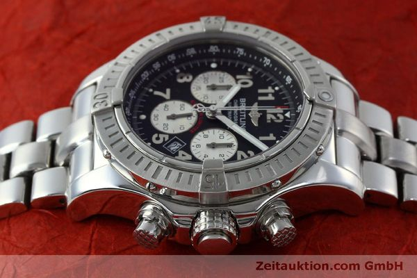 Used luxury watch Breitling Avenger chronograph steel quartz Kal. B69 Ref. A69360 LIMITED EDITION | 151407 05