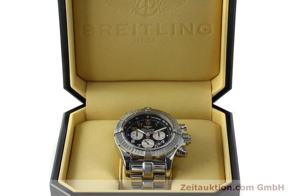 gebrauchte Luxusuhr Breitling Avenger Chronograph Stahl Quarz Kal. B69 Ref. A69360 LIMITED EDITION | 151407 07
