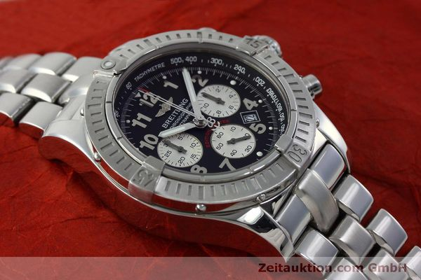 Used luxury watch Breitling Avenger chronograph steel quartz Kal. B69 Ref. A69360 LIMITED EDITION | 151407 16