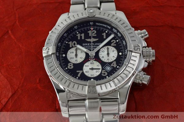 Used luxury watch Breitling Avenger chronograph steel quartz Kal. B69 Ref. A69360 LIMITED EDITION | 151407 17
