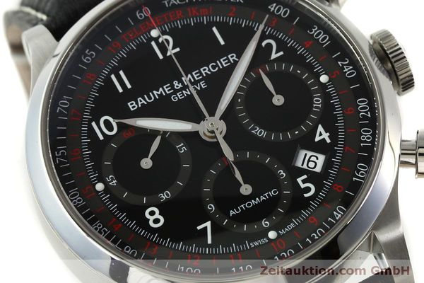 Used luxury watch Baume & Mercier Capeland chronograph steel automatic Kal. BM137753 Ref. 65687  | 151414 02