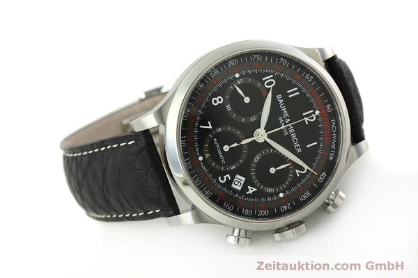 Used luxury watch Baume & Mercier Capeland chronograph steel automatic Kal. BM137753 Ref. 65687  | 151414 03