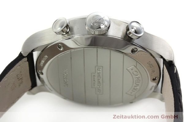 Used luxury watch Baume & Mercier Capeland chronograph steel automatic Kal. BM137753 Ref. 65687  | 151414 11