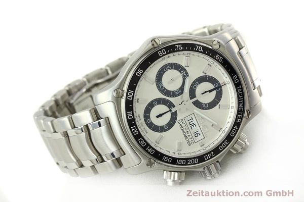 Used luxury watch Ebel 1911 chronograph steel automatic Kal. E 750 ETA 7750 Ref. 9750L62  | 151417 03