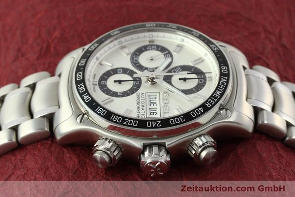 Used luxury watch Ebel 1911 chronograph steel automatic Kal. E 750 ETA 7750 Ref. 9750L62  | 151417 04