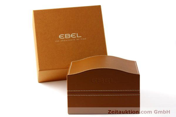 Used luxury watch Ebel 1911 chronograph steel automatic Kal. E 750 ETA 7750 Ref. 9750L62  | 151417 05