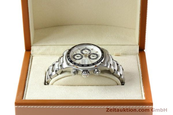 Used luxury watch Ebel 1911 chronograph steel automatic Kal. E 750 ETA 7750 Ref. 9750L62  | 151417 06