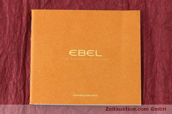 Used luxury watch Ebel 1911 chronograph steel automatic Kal. E 750 ETA 7750 Ref. 9750L62  | 151417 07