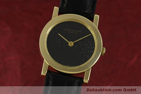 Used luxury watch Patek Philippe Calatrava 18 ct gold manual winding Kal. 23-300 Ref. 788/4  | 151419 04