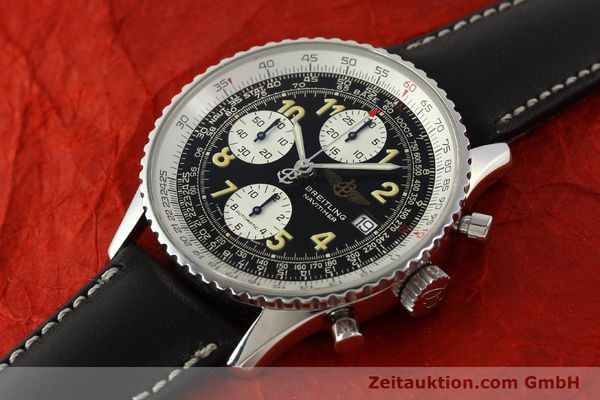 Used luxury watch Breitling Navitimer chronograph steel automatic Kal. B13 ETA 7750 Ref. A13022  | 151422 01