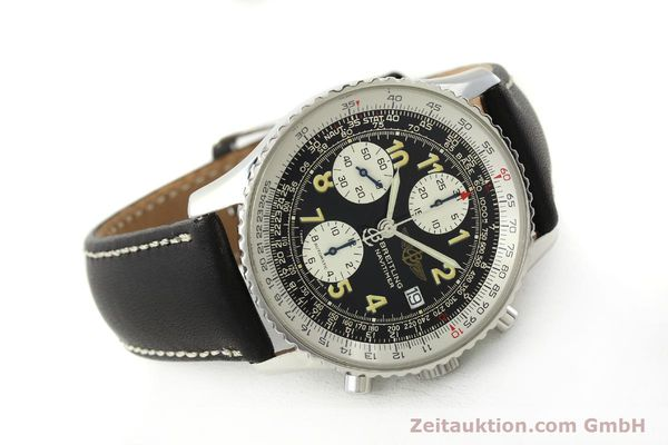Used luxury watch Breitling Navitimer chronograph steel automatic Kal. B13 ETA 7750 Ref. A13022  | 151422 03
