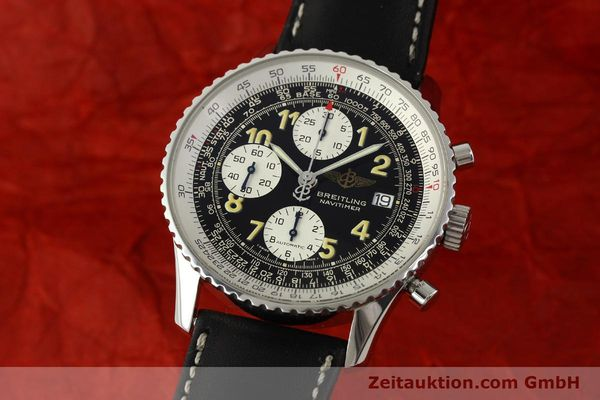 Used luxury watch Breitling Navitimer chronograph steel automatic Kal. B13 ETA 7750 Ref. A13022  | 151422 04
