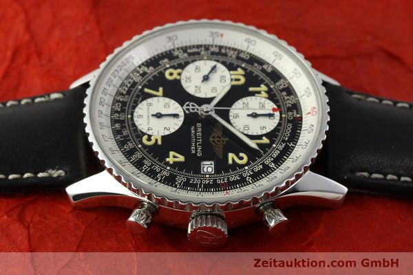 Used luxury watch Breitling Navitimer chronograph steel automatic Kal. B13 ETA 7750 Ref. A13022  | 151422 05