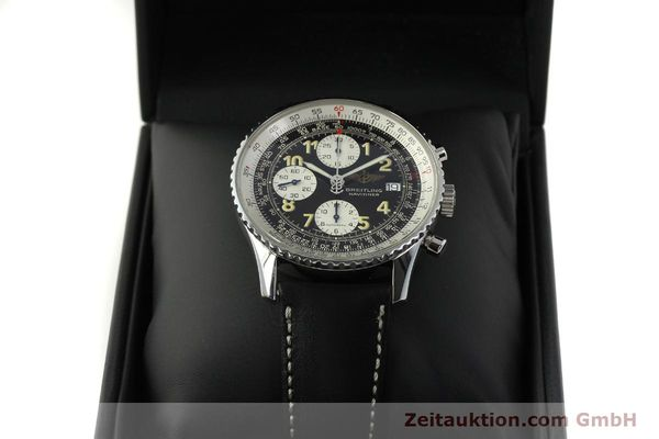 Used luxury watch Breitling Navitimer chronograph steel automatic Kal. B13 ETA 7750 Ref. A13022  | 151422 07