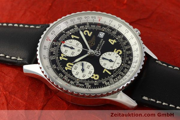 Used luxury watch Breitling Navitimer chronograph steel automatic Kal. B13 ETA 7750 Ref. A13022  | 151422 15