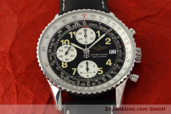 Used luxury watch Breitling Navitimer chronograph steel automatic Kal. B13 ETA 7750 Ref. A13022  | 151422 16