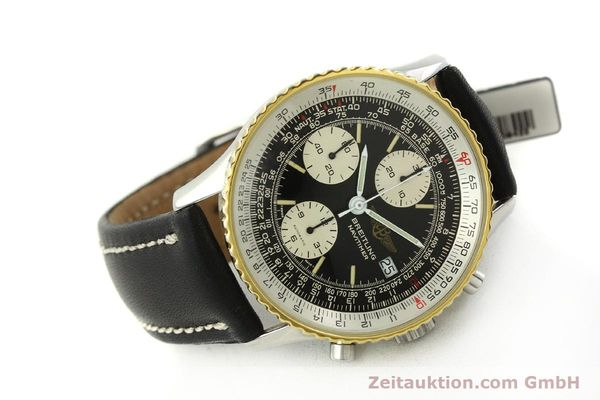 Used luxury watch Breitling Navitimer chronograph steel / gold automatic Kal. Val 7750 Ref. 81610  | 151425 03