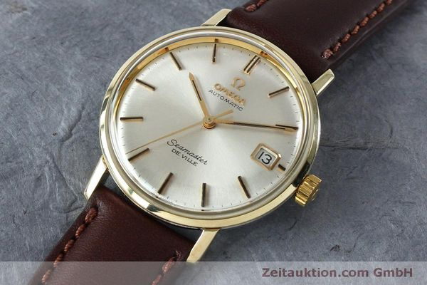 Used luxury watch Omega Seamaster steel / gold automatic Kal. 562 VINTAGE  | 151428 01