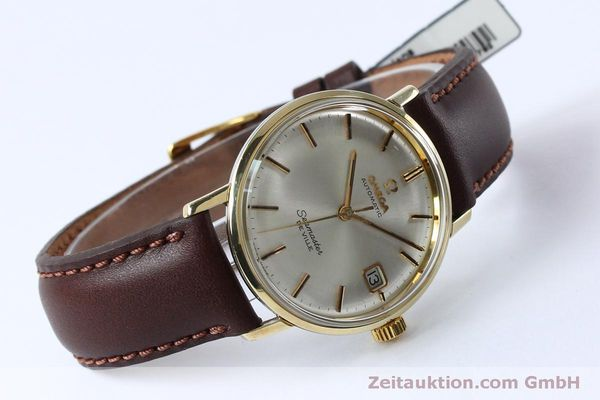 Used luxury watch Omega Seamaster steel / gold automatic Kal. 562 VINTAGE  | 151428 03