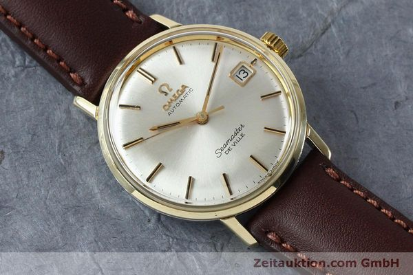 Used luxury watch Omega Seamaster steel / gold automatic Kal. 562 VINTAGE  | 151428 13