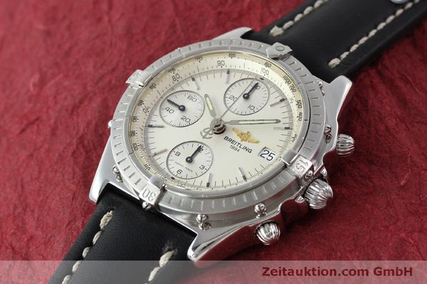 Used luxury watch Breitling Chronomat chronograph steel automatic Kal. B13 ETA 7750 Ref. A13050 LIMITED EDITION | 151429 01