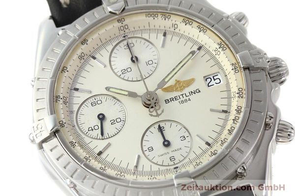 Used luxury watch Breitling Chronomat chronograph steel automatic Kal. B13 ETA 7750 Ref. A13050 LIMITED EDITION | 151429 02