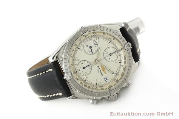 Used luxury watch Breitling Chronomat chronograph steel automatic Kal. B13 ETA 7750 Ref. A13050 LIMITED EDITION | 151429 03
