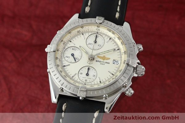 Used luxury watch Breitling Chronomat chronograph steel automatic Kal. B13 ETA 7750 Ref. A13050 LIMITED EDITION | 151429 04