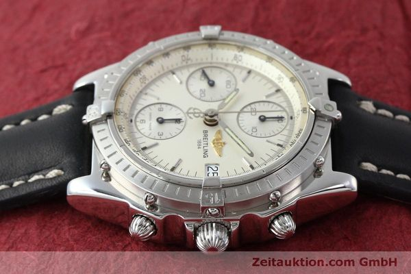 Used luxury watch Breitling Chronomat chronograph steel automatic Kal. B13 ETA 7750 Ref. A13050 LIMITED EDITION | 151429 05