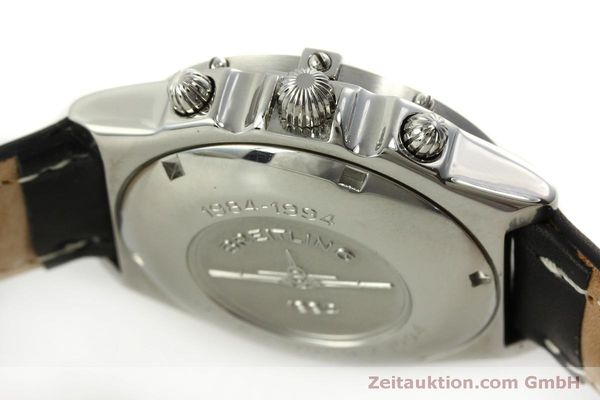 Used luxury watch Breitling Chronomat chronograph steel automatic Kal. B13 ETA 7750 Ref. A13050 LIMITED EDITION | 151429 08