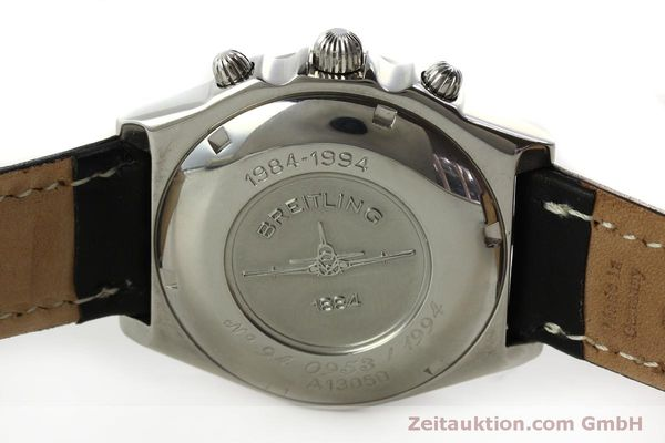 Used luxury watch Breitling Chronomat chronograph steel automatic Kal. B13 ETA 7750 Ref. A13050 LIMITED EDITION | 151429 09