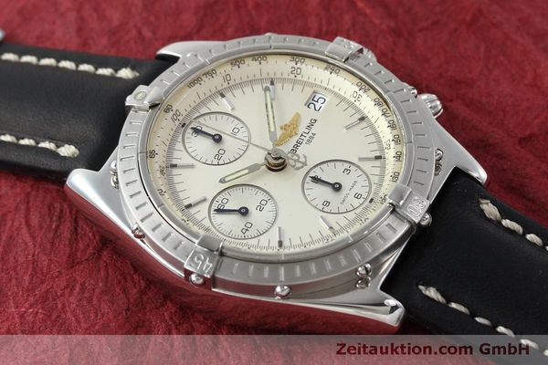 Used luxury watch Breitling Chronomat chronograph steel automatic Kal. B13 ETA 7750 Ref. A13050 LIMITED EDITION | 151429 14