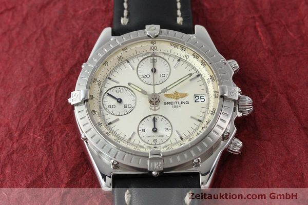 Used luxury watch Breitling Chronomat chronograph steel automatic Kal. B13 ETA 7750 Ref. A13050 LIMITED EDITION | 151429 15