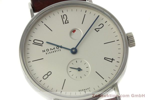 Used luxury watch Nomos Tangente steel manual winding Kal. Gamma 2265  | 151433 02