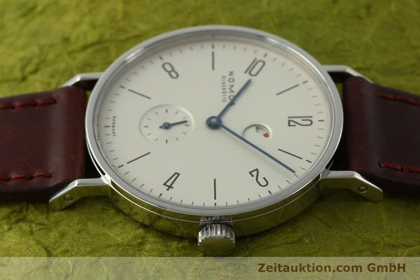 Used luxury watch Nomos Tangente steel manual winding Kal. Gamma 2265  | 151433 05