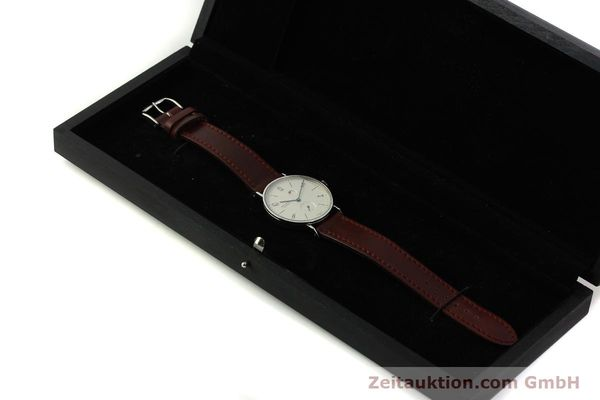 Used luxury watch Nomos Tangente steel manual winding Kal. Gamma 2265  | 151433 07