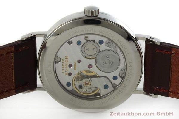 Used luxury watch Nomos Tangente steel manual winding Kal. Gamma 2265  | 151433 09