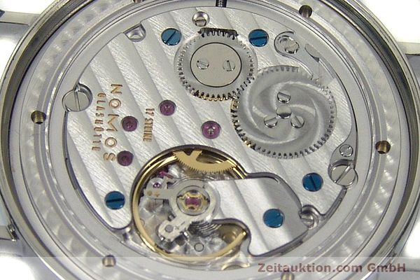 Used luxury watch Nomos Tangente steel manual winding Kal. Gamma 2265  | 151433 10