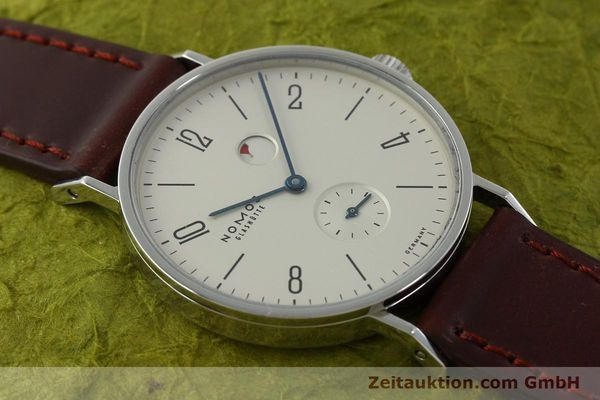 Used luxury watch Nomos Tangente steel manual winding Kal. Gamma 2265  | 151433 15