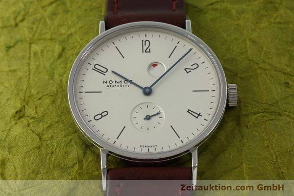 Used luxury watch Nomos Tangente steel manual winding Kal. Gamma 2265  | 151433 16