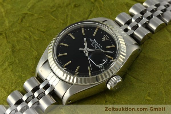 Used luxury watch Rolex Lady Date steel / white gold automatic Kal. 2030 Ref. 6917  | 151434 01